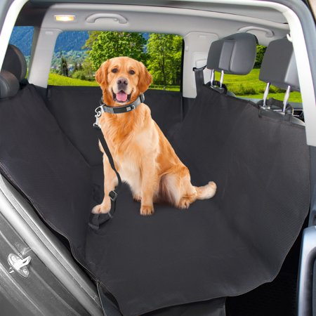 Waterproof Dog Car Seat Cover With 2 Car Door Covers Seatbelt Leash For Pets Dog Hammock With Side Protectors