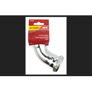 Ace 1-1 2 Dia. x 1-1 2 Dia. Slip To Slip 45 deg. Schedule 40 Chrome Plated Brass Elbow