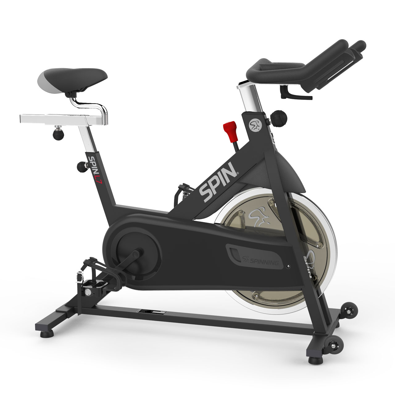 SPINNER L7 Spin Bike x 4 DVDs Exercise Bike by Mad Dogg