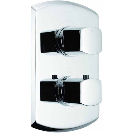 Toto Soiree Thermostatic Mixing Valve Trim with Dual Volume Control, Available in Various Colors