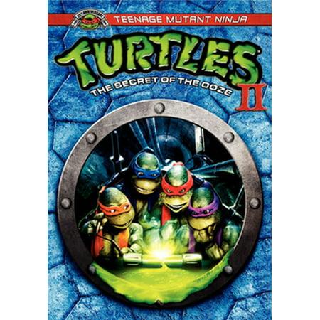 Teenage Mutant Ninja Turtles II: The Secret Of The Ooze (DVD)](Ninja Turtle Movie For Kids)