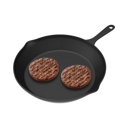 "Frying Pan - Cast Iron Pre-Seasoned Nonstick 8"" Skillet by"