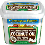 Carrington Farms 100% Organic Extra Virgin Coconut Oil, 12 oz