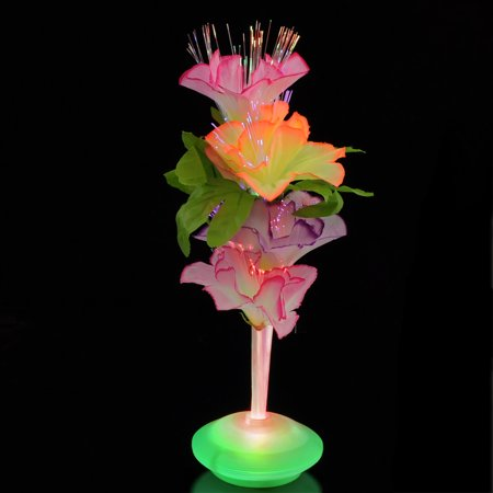 FlashingBlinkyLights Fiber Optic LED Flower Centerpiece - Fiber Optic Mohawk