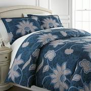 Grand Floral Printed Duvet Cover Set by SouthShore Fine Linens
