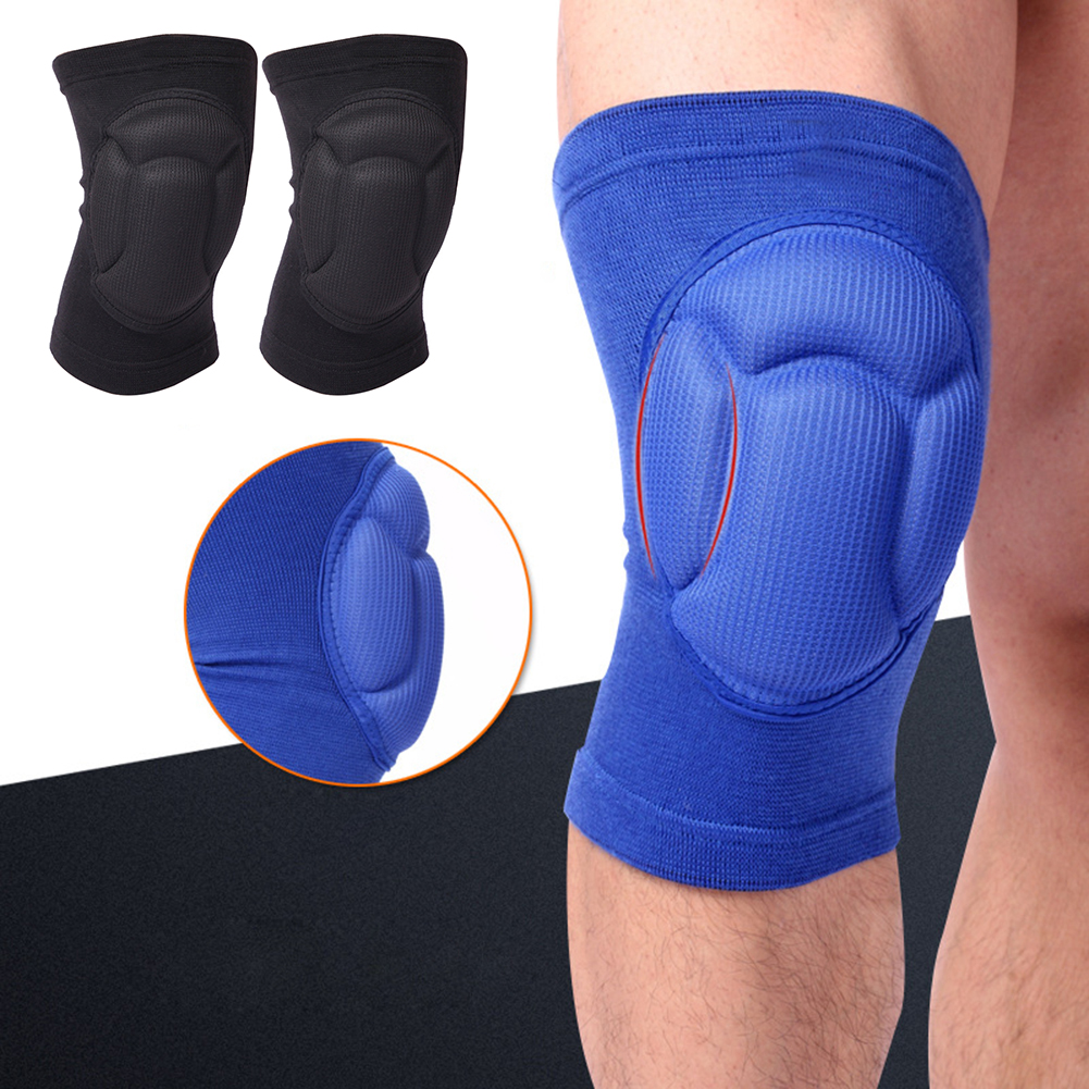 Micelec 2Pcs Thick Kneepad Knee Brace Support Protector Football Volleyball Sports Pad