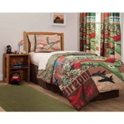 """Mainstays Airzone Boy's Bedroom Curtains in 84"""" Set of two"""