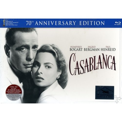 Casablanca (70th Anniversary Limited Edition) (Blu-ray   DVD)