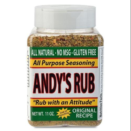 Andy's Rub, an All Natural Rub with Attitude, 11 oz.