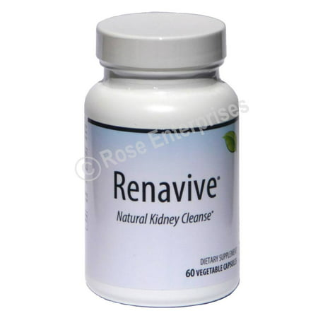 Renavive Natural Kidney Cleanse - 60 Capsules