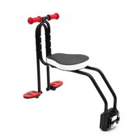 Bicycle Child Safety Seat Front Baby Seat Bike Carrier Child Safety Carrier Mounted with Handrail Peadals