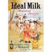 Buy Enlarge 0-587-01142-4P20x30 Ideal Milk- Unsweetened  Sterilized- Paper Size P20x30