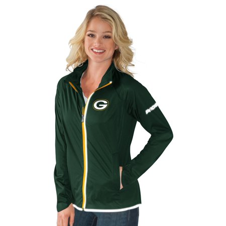 G-III Sports - Green Bay Packers Team Colors Full Zip Women s Track Jacket  - Walmart.com e223e5a92