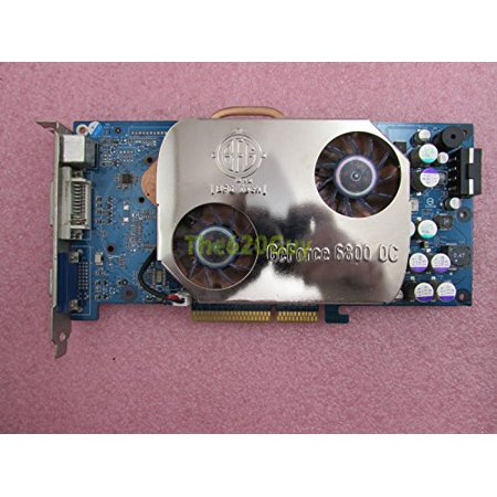 (BFG BFGR6800OC NVIDIA GeForce 6800 128MB DDR 256-Bit AGP 4X/8X Video Card GPU - Refurbished)