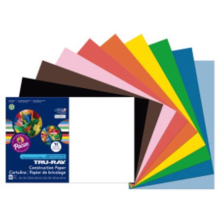 "Pacon Construction Paper Assorted Colors 12"" x 18"""
