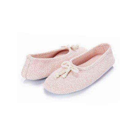 Women S Memory Foam House Shoes Breathable Ballerina Slippers Anti Skid Shoe