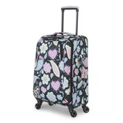 French West Indies 20-inch Carry-On Spinner Suitcase - Whimsy Paisley Pastel