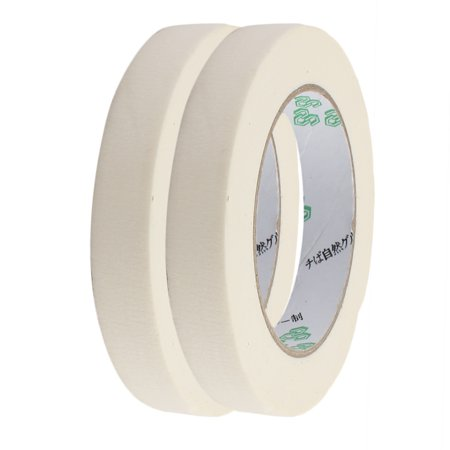 2pcs 18mm Width Adhesive Paper Painting Writing Decoration Tape White 50M Length - image 4 of 4