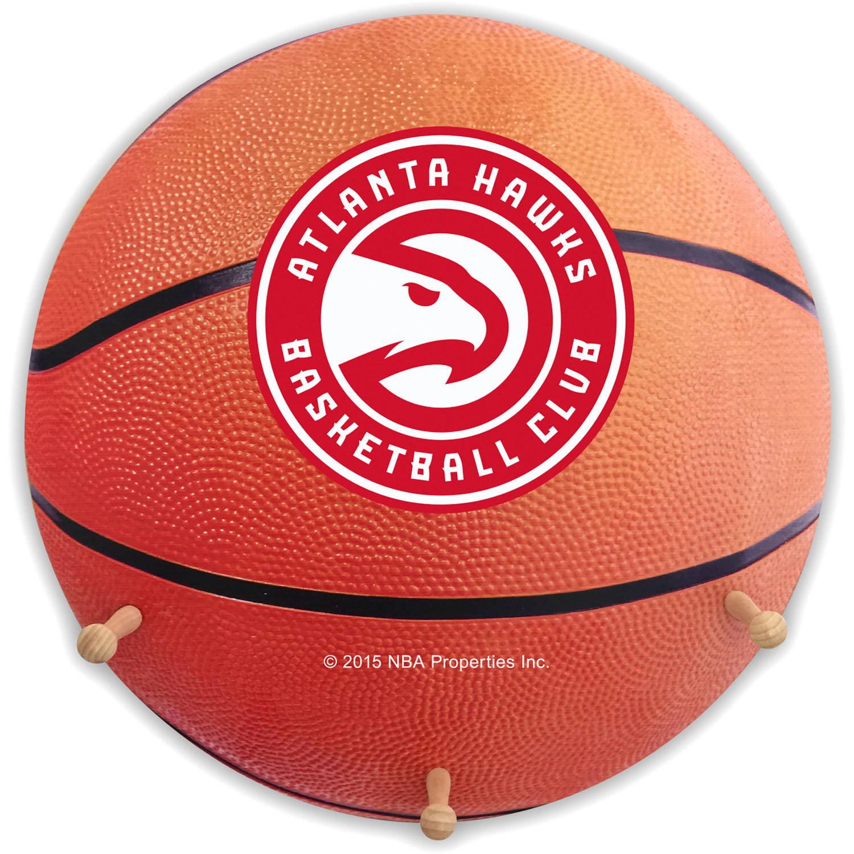 NBA Atlanta Hawks Basketball Coat Rack