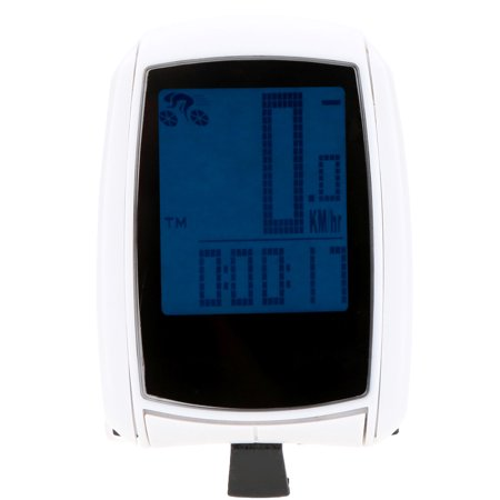 Multifunctional Wireless LCD Bicycle Computer Odometer