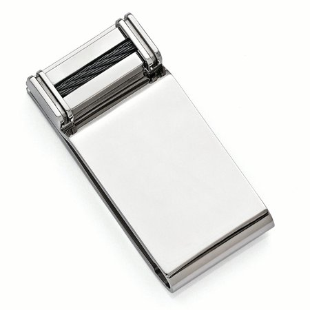 Edward Mirell Titanium Cable Money Clip Man Fashion Jewelry Gift For Dad Mens For Him - image 7 of 7