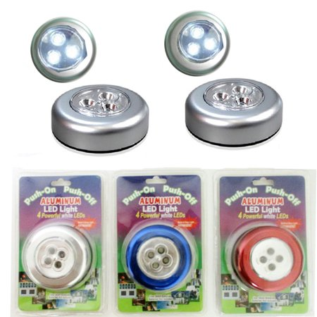 Night Peel (Aluminum LED Light Push Touch Night Lamp Driving Peel Adhesive As On Seen TV )