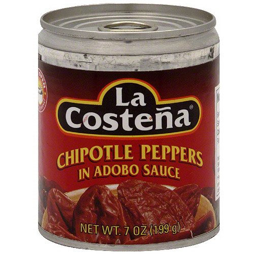 La Costena Chipotle Peppers In Adobo Sauce, 7 oz (Pack of 12)