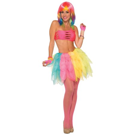 Bright Multicolor Adult Tutu - Superwoman Tutu