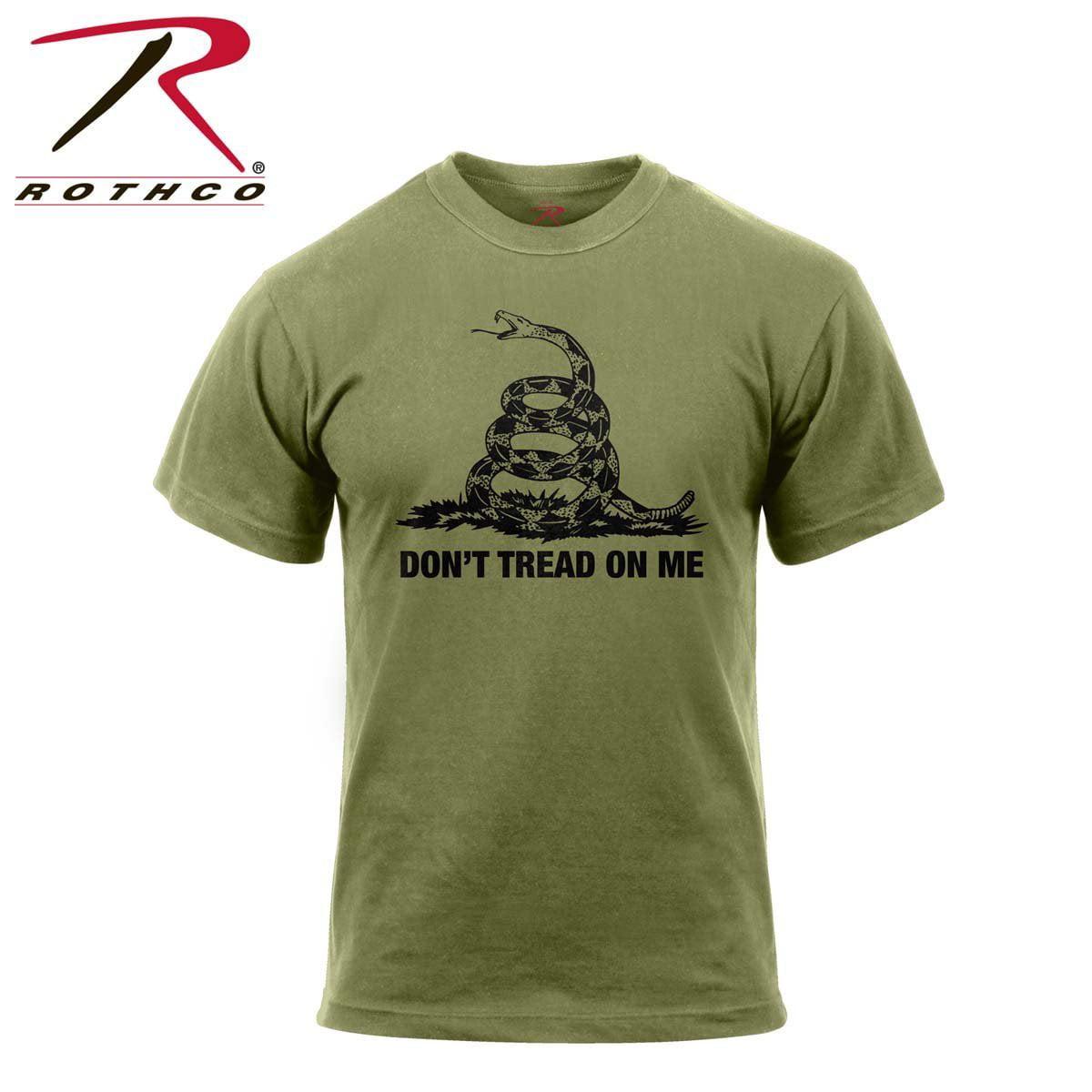 4041d5016fa Rothco Don't Tread On Me Vintage T-Shirt - Black, Large | Walmart Canada ?
