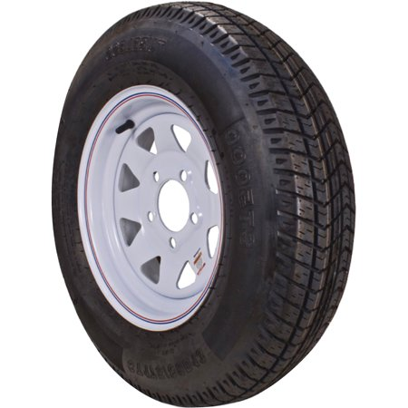 Loadstar Bias Tire and Wheel (Rim) Assembly 480-12 5 Hole 4