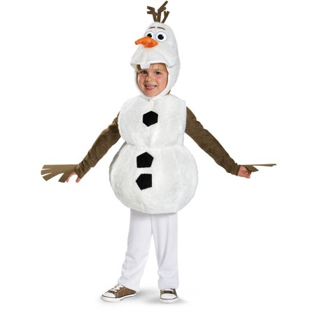 Frozen - Deluxe Olaf Child Costume - White Swan Costume Kids