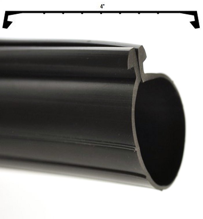 10/' L Wayne Dalton OEM Bottom Rubber T//Bead Factory Garage Door Weather Seal