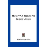 History of France for Junior Classes