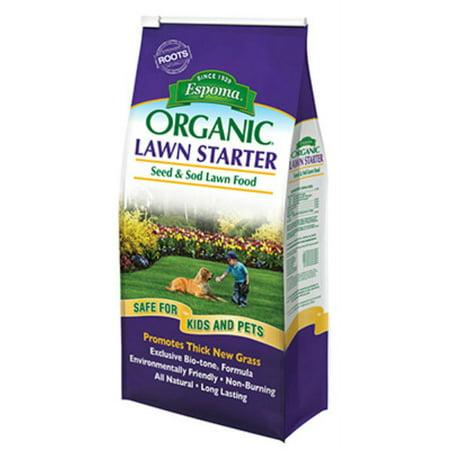 Espoma Company-Organic Lawn Starter Seed And Sod Lawn Food 36 (Best Fertilizer For New Sod)