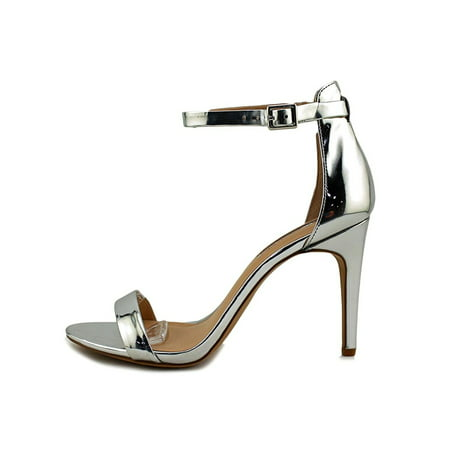 INC International Concepts Roriee Women Open Toe Pale Silver Size 80
