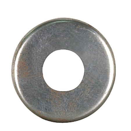 Satco Steel Check Ring Curled Edge 1/8 IP Slip Unfinished 1in - Curly Mo