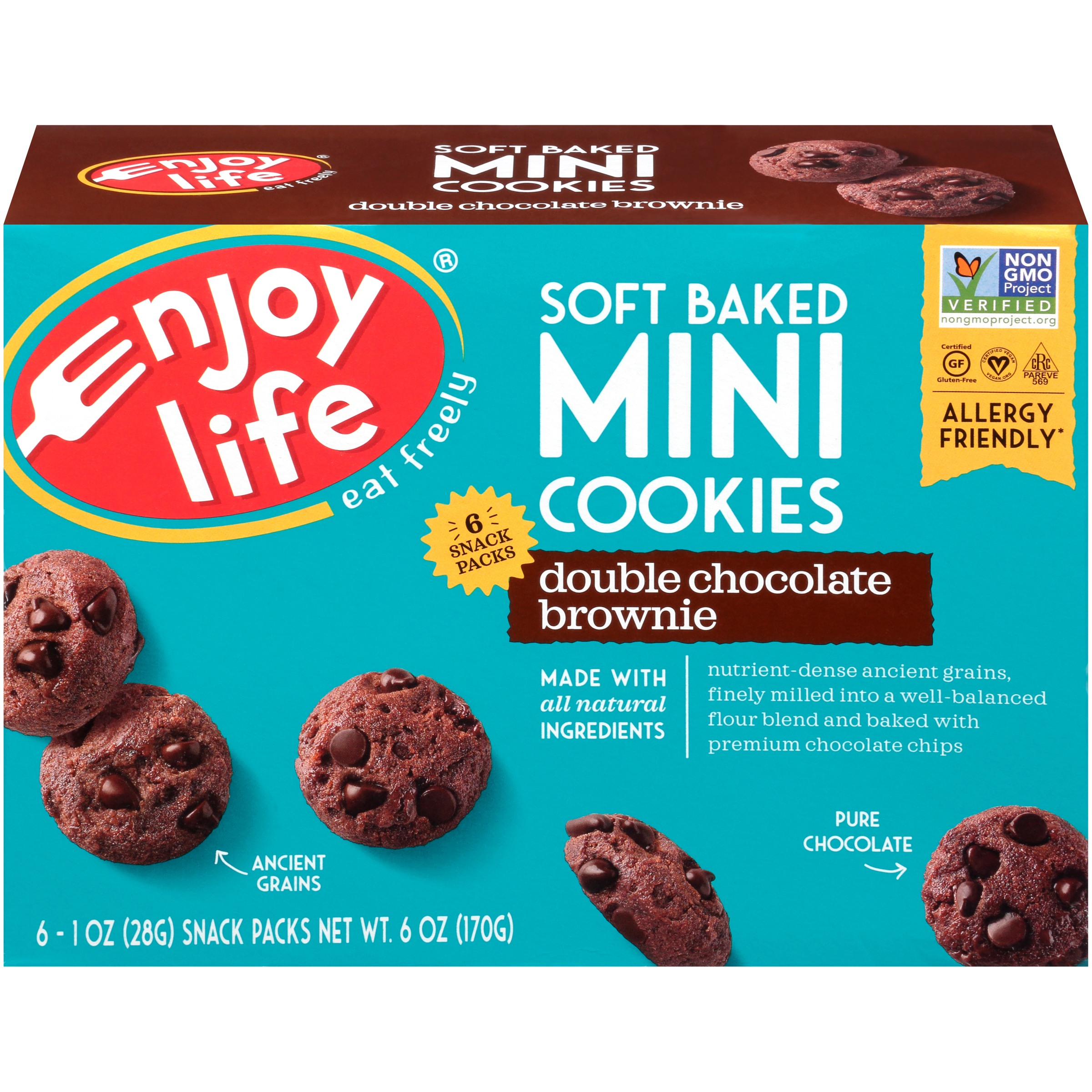 Enjoy Life Foods Gluten Free, Allergy Friendly Soft Baked Double ...
