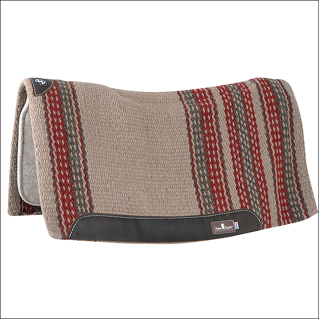 CLASSIC EQUINE ZONE WOOL TOP New ZEALAND WOOL DURABLE HORSE SADDLE PAD by CLASSIC ROPE COMPANY