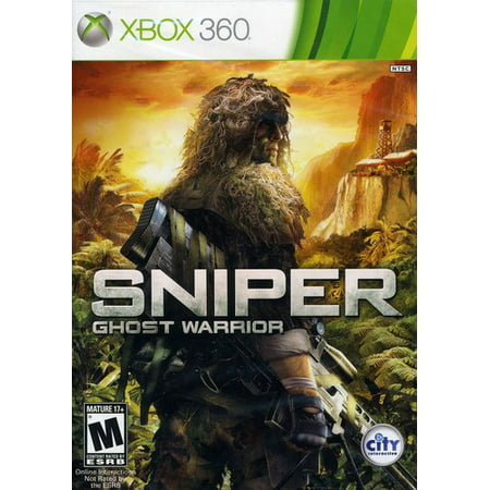 Sniper: Ghost Warrior (Xbox 360) City Interactive, (Sniper System)