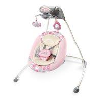 Ingenuity InLighten Cradling Plug-In Swing with LightBeams Mobile - Phoebe