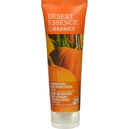 Desert Essence Organics Hand Repair Cream, Pumpkin Spice, 4 fl oz