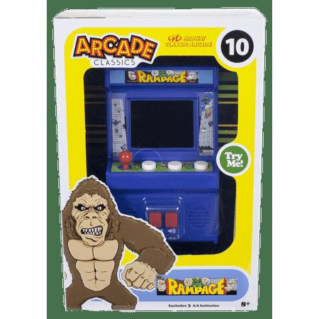 Fun Arcade Style Game (Arcade Classics - Rampage Mini Arcade Game )