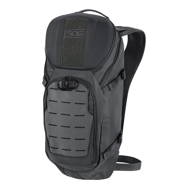 """SOG CP1002B Backpack Ranger 16 Kodra 500D Nylon 19.3"""" x 9"""" x 6.3"""" Black"""
