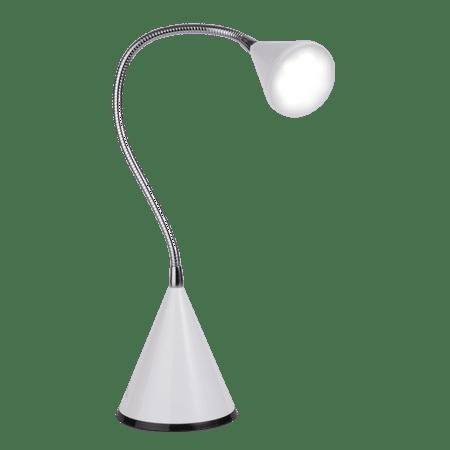 OttLite LED Cone Desk Lamp, White