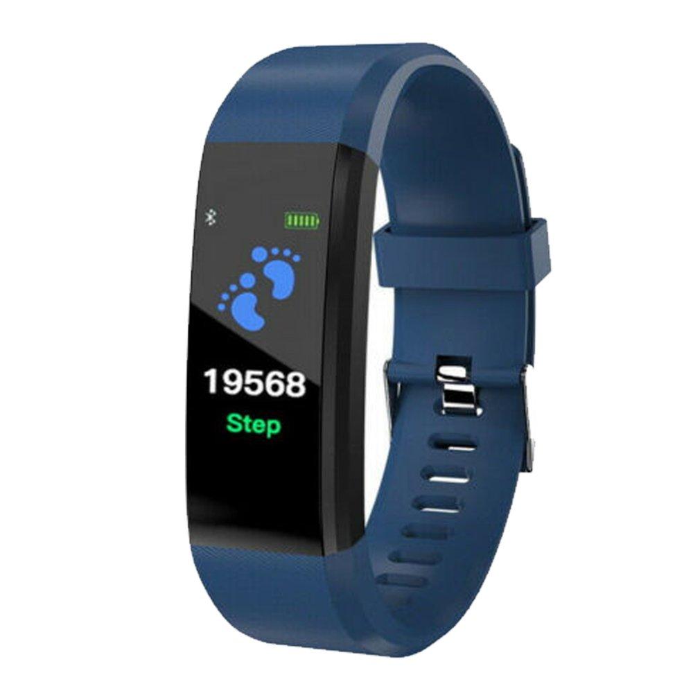Owl's-Yard 115 Plus Bluetooth Sport Heart Rate Blood Pressure Smart Bracelet