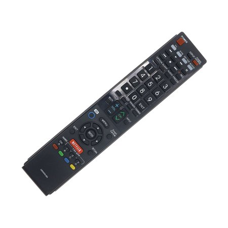Sharp Aquos Backlight (Sharp Aquos GB005WJSA Replacement TV Remote for LC-60LE655U LC-60LE657U LC-70LE652U LC-70LE755U LC80LE857U)