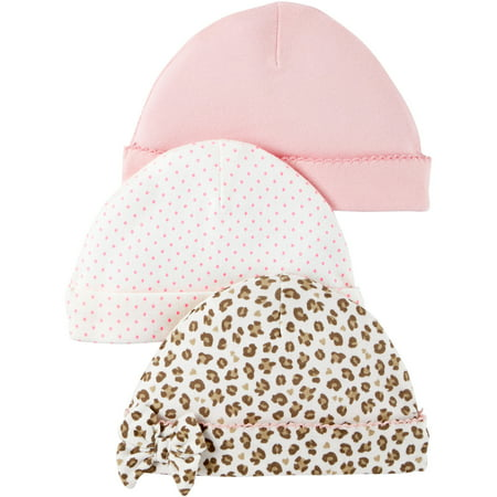 Child of Mine by Carter s - Child Of Mine by Carter s Newborn Baby Girl Caps 788e20b653d