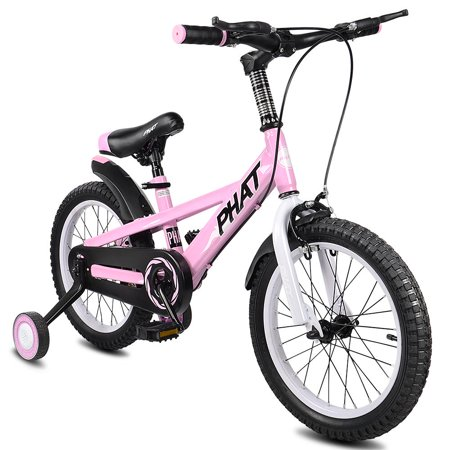 PHAT Kids Bike with Training Wheels, 16 inch Wheels, for Ages 4 to 6 Years - image 9 of 9
