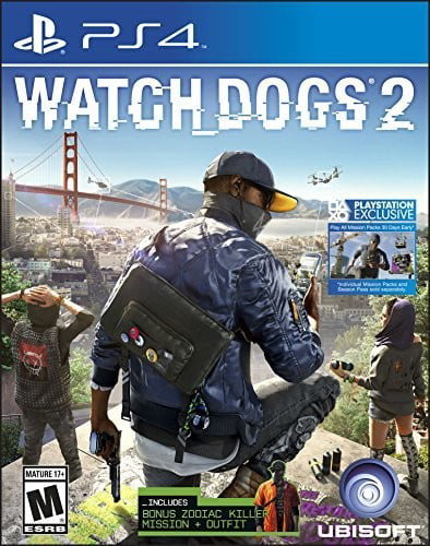Watch Dogs 2 Day 1 Edition, Ubisoft, PlayStation 4, 887256022884 by Ubisoft