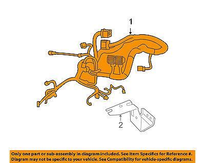 Jeep CHRYSLER OEMEngine Control Module ECM PCU PCM Wiring Harness